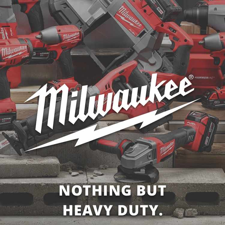Shop Milwaukee power tools from Jeds Hardware