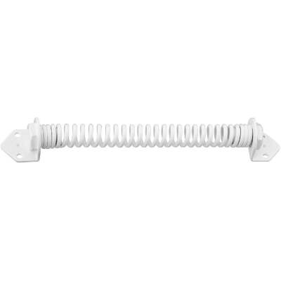 National 11 In. White Cold Rolled Steel Gate Spring