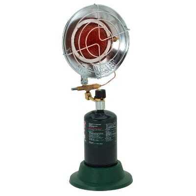 MR. HEATER 15,000 BTU Radiant Portable Tank Top Propane Heater