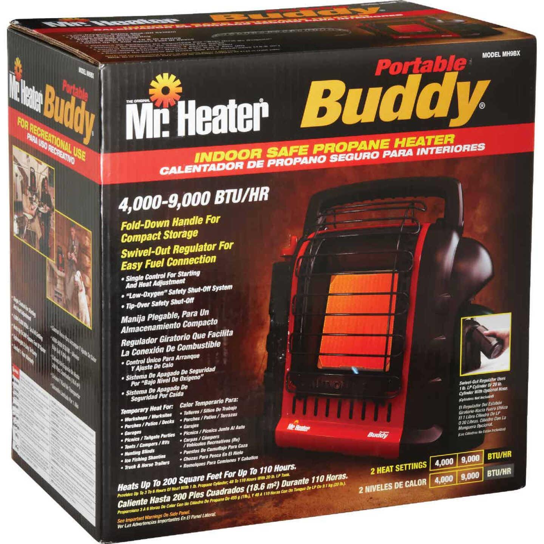 MR. HEATER 9000 BTU Radiant Portable Buddy Propane Heater Image 6