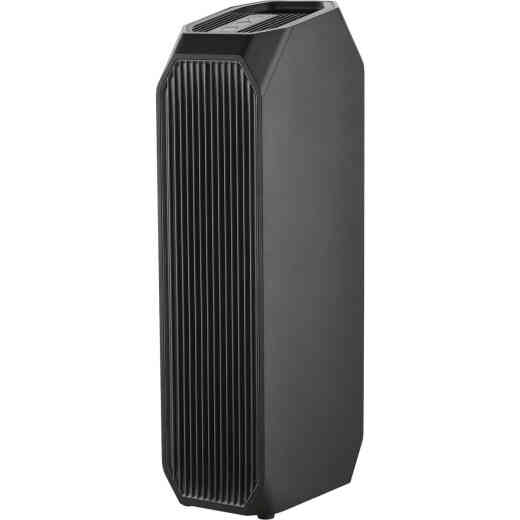 Perfect Aire 3-In-1 HEPA/Carbon 222 Sq. Ft. Tower Air Purifier with UV Sanitizer