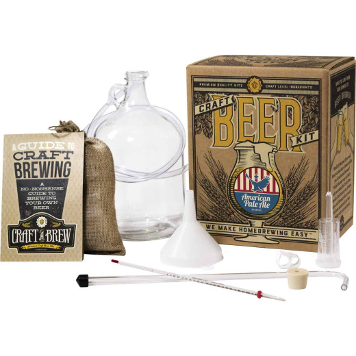 Craft A Brew American Pale Ale Beer Brewing Kit (11-Piece)