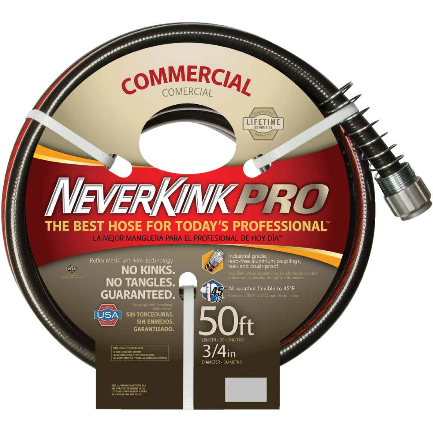 NeverKink XP 3/4 In. x 50 Ft. Farm & Ranch Hose Image 2
