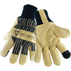 West Chester Men's XL Pigskin Leather Winter Glove with Knit Wrist Image 1