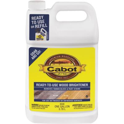 Cabot 1 Gal. Ready-To-Use Wood Brightener