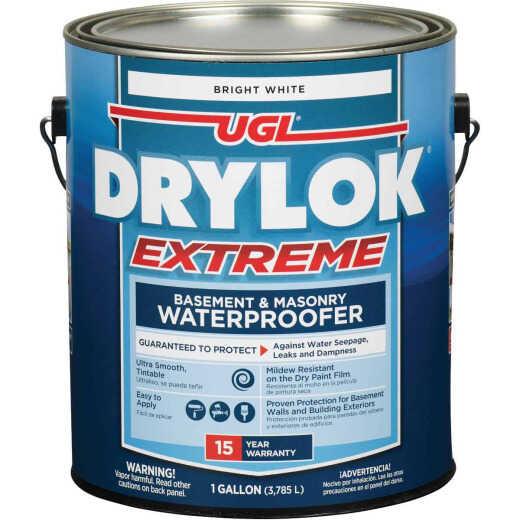 Drylok White Extreme Basement & Masonry Waterproofer Concrete Sealer, 1 Gal.